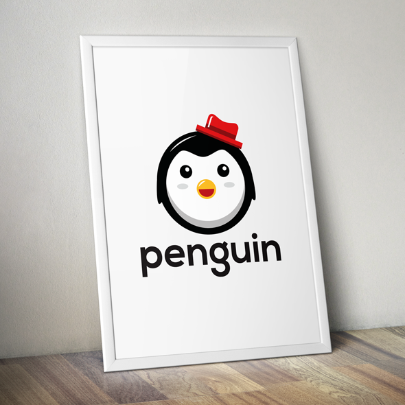 Penguin Vector Logo Template