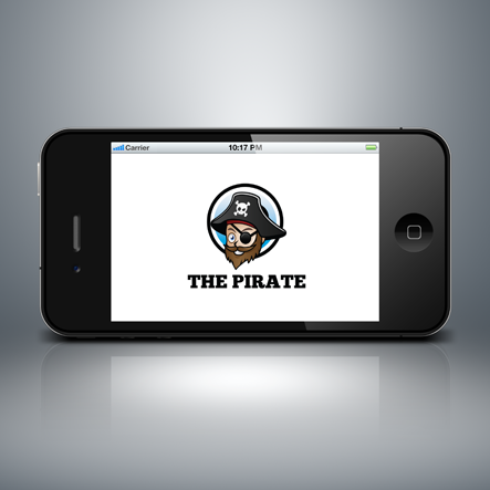 The Pirate Vector Logo Template