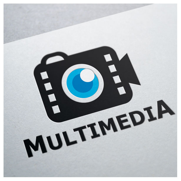 multimedia-camera-video-movie-film-cinema-logo-template-one