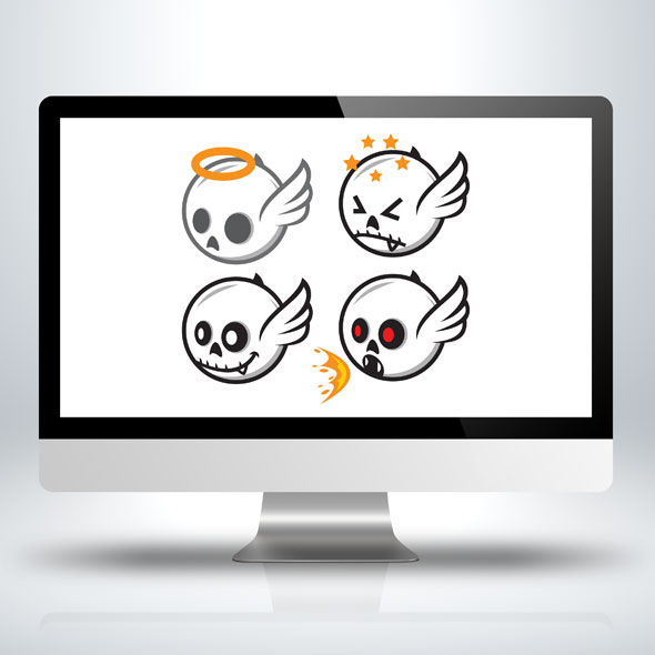 white-skull-sprite-sheet-game-asset-sidescroller-animation