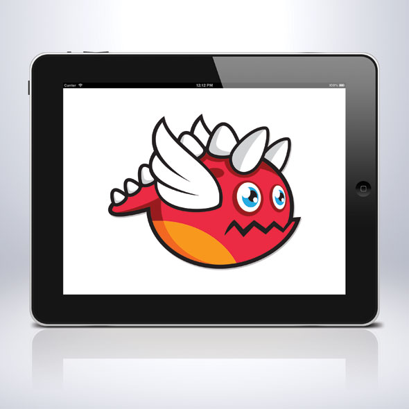 flying-red-dragon-sprite-sheet-character-game-assets-sidescroller-game-animation