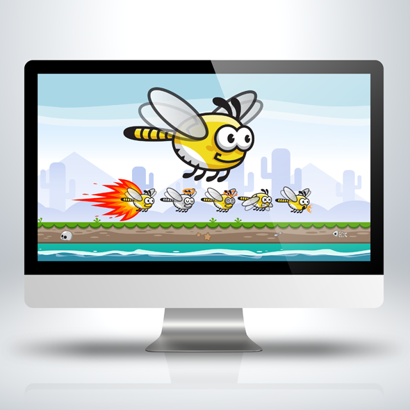 dragonfly-insect-bugs-game-character-sprite-sheet-sidescroller-game-asset-flying-flappy-animation-gui-mobile-games-gameart-game-art-590