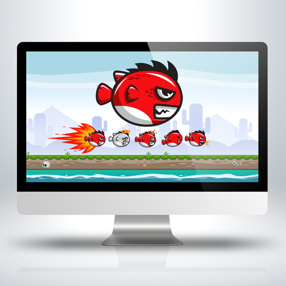 red-angry-fish-game-character-sprite-sheet-sidescroller-game-asset-flying-flappy-animation-gui-mobile-games-gameart-game-art
