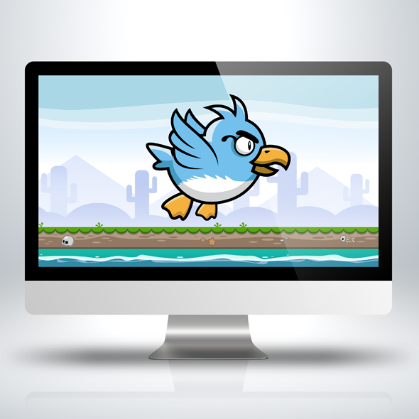 Blue-cute-duck-game-character-sprite-sheet-sidescroller-game-asset-flying-flappy-animation-gui-mobile-games-gameart-game-art