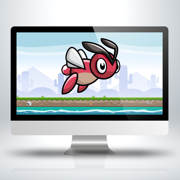 flying-red-bug-game-character-sprite-sheets-side-scroller-for-indie-game-developers