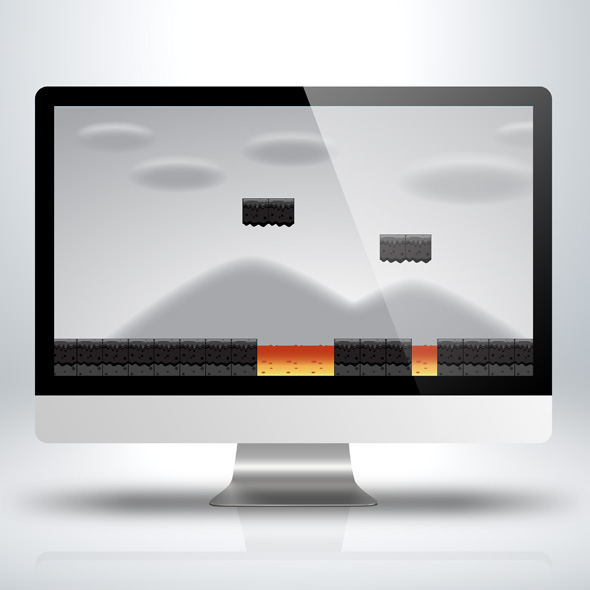 Mist Parallax Game Background for Game Developers