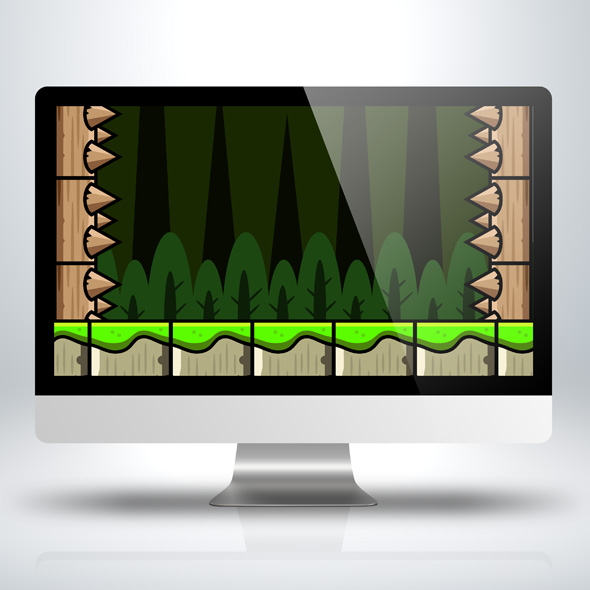 pine-trees-vertical-game-background-for-vertical-scrolling-game