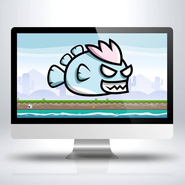devil-fish-game-character-sprite-sheets-game-asset