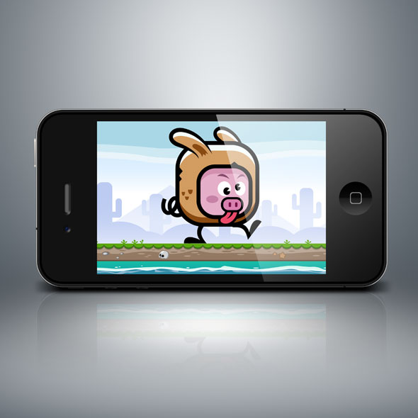 rabbit_bunny_pig_mascot_game_character_game_asset