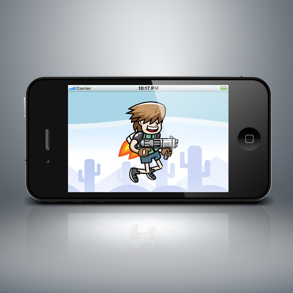 jetpack_gunner_shooting_boy_kid_game_character