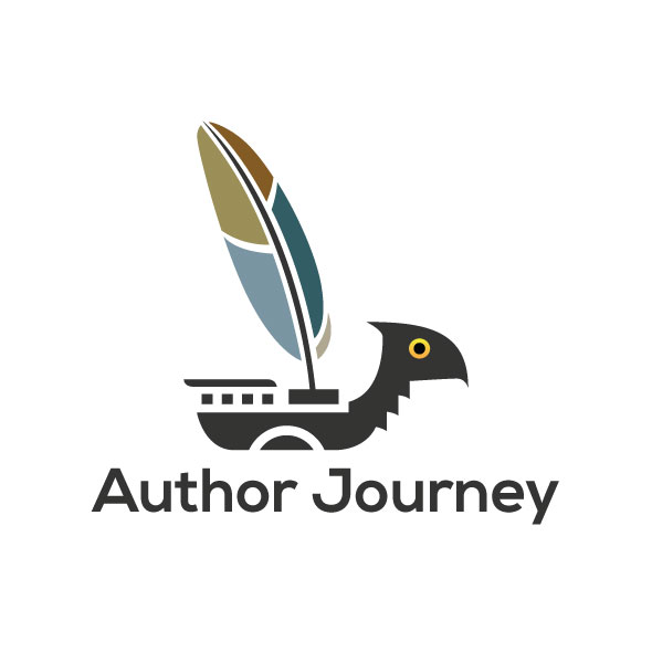 author journey logo template