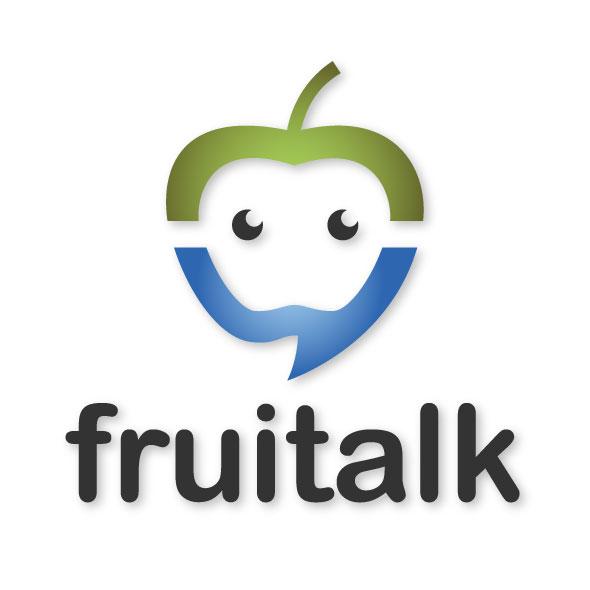 fruitalk logo template