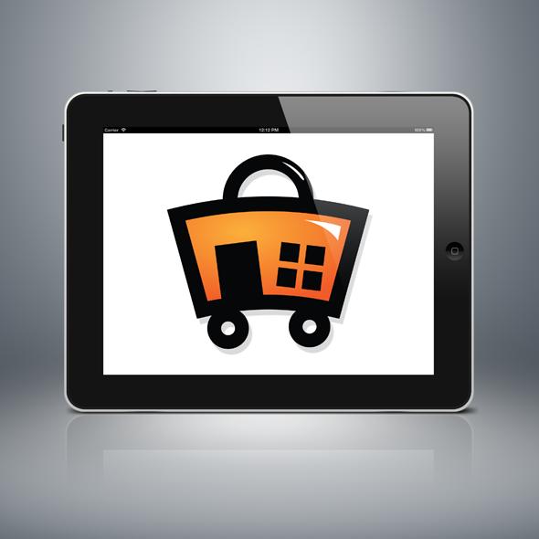 home shopping logo template