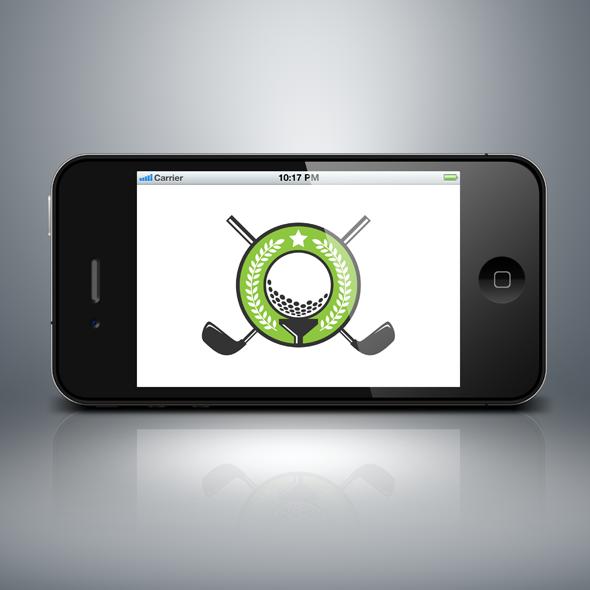 Golf Tournament Logo in Vector Format