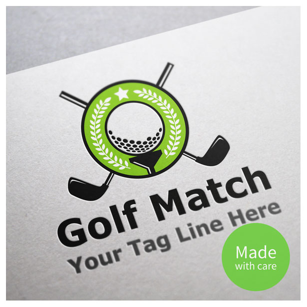 Golf Tournament Logo in Vector Format