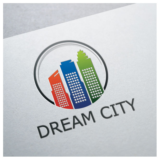 dream-city-building-skyscrapper-property-resident-residence-logo-template-one