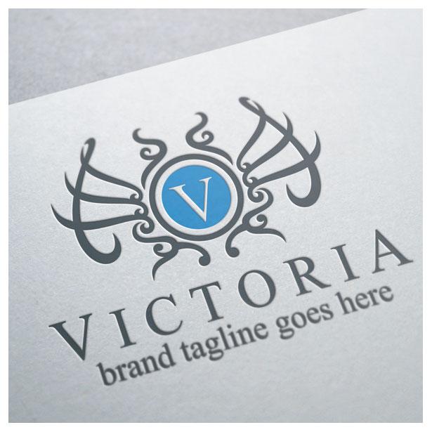 letter-alphabet-V-victoria-crest-floral-logo-template-4