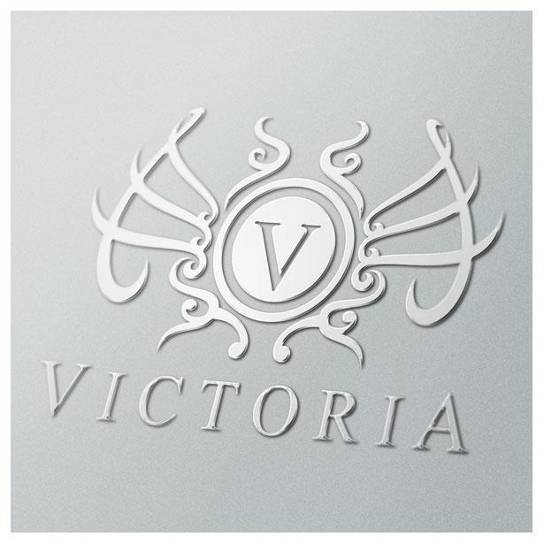 letter-alphabet-V-victoria-crest-floral-logo-template-one