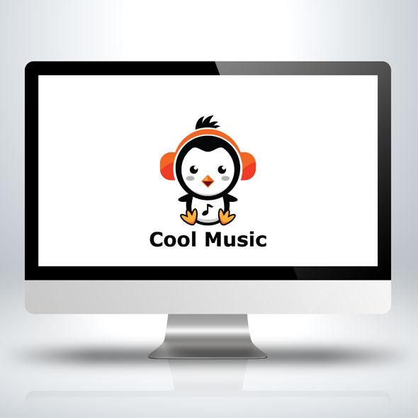 penguin-music-ice-sea-polar-logo-template-bevouliin