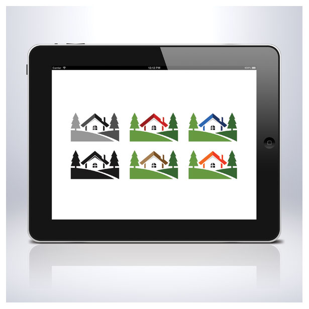 property-home-house-residence-logo-template-one