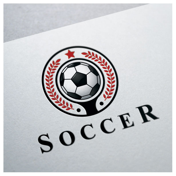 soccer-championship-tournament-match-cup-club-forum-community-logo-template-one