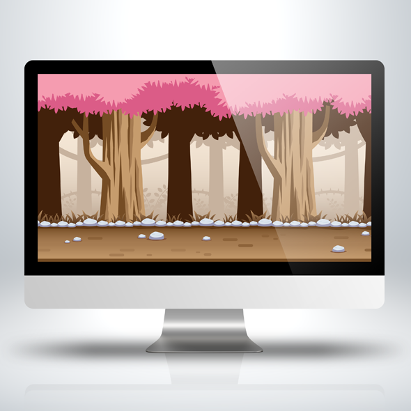 side-scrolling-game-background-sakura-forest-game-assets-sidescroller