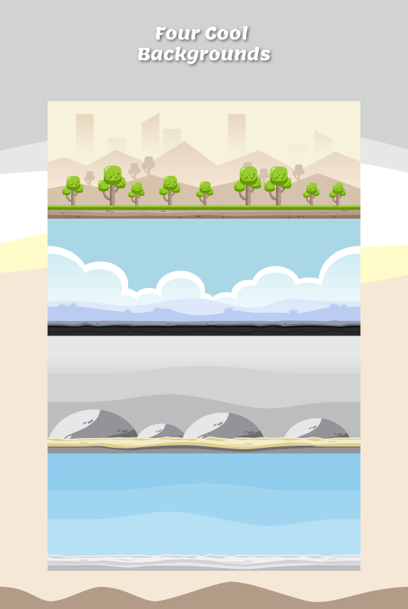 Game Assets - Flappy Riders Sprite Sheets