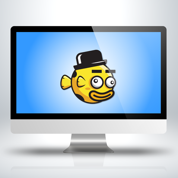 funny-derp-clown-fish-game-character-sprite-sheet-sidescroller-game-asset-flying-flappy-animation-gui-mobile-games