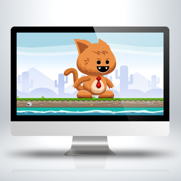 Running-and-jumping-fat-cat-game-character-sprite-sheet-sidescroller-game-asset-mobile-games-gameart-game-art