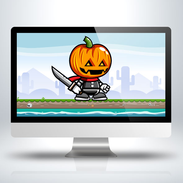 pumpkin-monster-game-character-sprite-sheets-game-assets