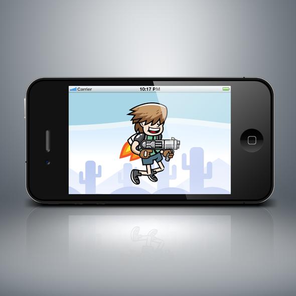 jetpack_gunner_shooting_boy_kid_game_character
