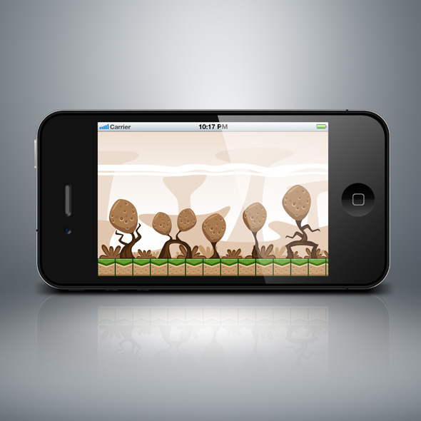 potato island game background for game developers