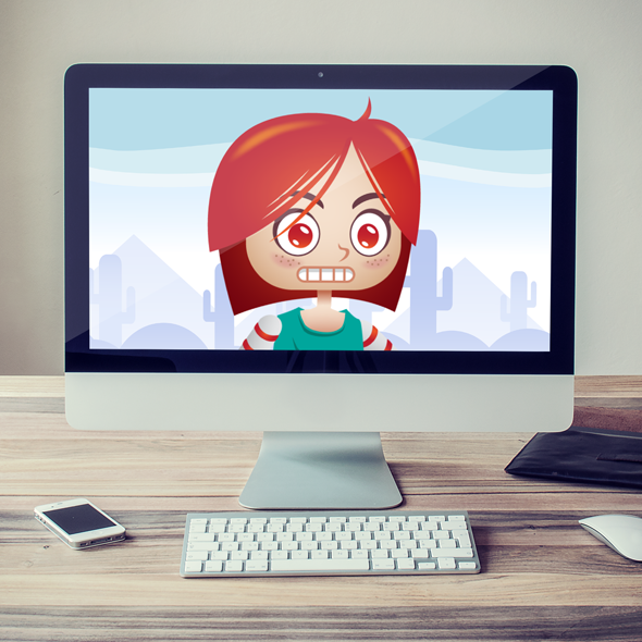 RED-head-girl-sprites-animation-game-asset-spine2D-bevouliin