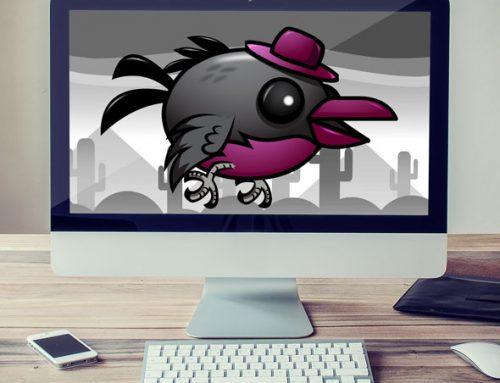 Gentleman Flappy Bird Sprites