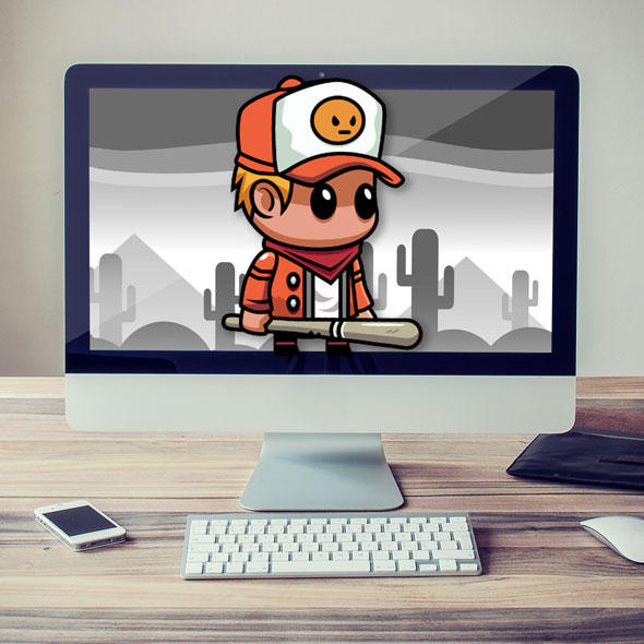 Street boy 2d game asset sprites character for game developers