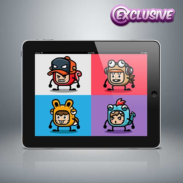 Mascot Villager exclusive NFT art for Sell